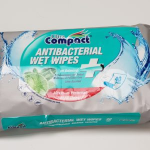 Antibacterial Wipes (40 Wipes)