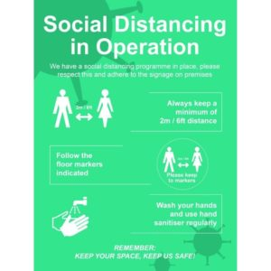 Social Distancing In Operation – RPVC (600 X 800mm)