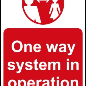 One Way System In Operation A Board (Red)
