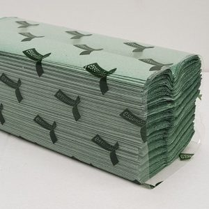 C FOLD HAND TOWELS GREEN 2688