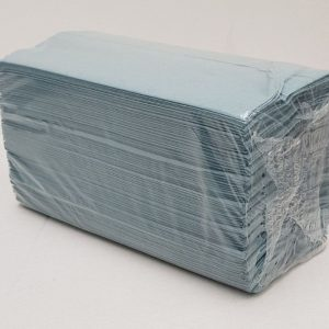 C FOLD HAND TOWELS BLUE CASE 2624