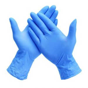 Nitrile PF Gloves (100 Pieces) Medium